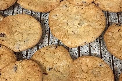 Urmelis weiße Schokolade - Cranberry - Haferflocken - Cookies 23