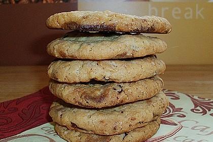 Urmelis weiße Schokolade - Cranberry - Haferflocken - Cookies 5