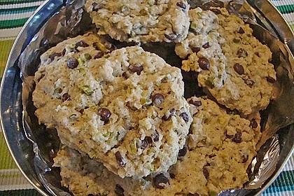 Urmelis weiße Schokolade - Cranberry - Haferflocken - Cookies 19