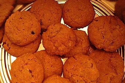 Urmelis weiße Schokolade - Cranberry - Haferflocken - Cookies 24