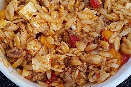 Kritharaki-Salat mit Hackfleisch 46