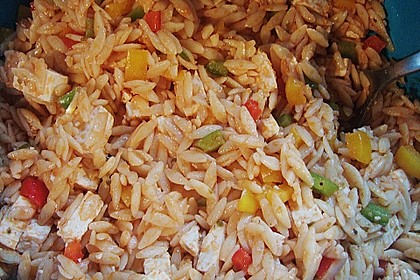 Kritharaki - Salat mit Hackfleisch 50