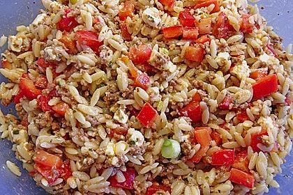 Kritharaki-Salat mit Hackfleisch 12