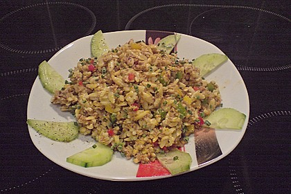 Kritharaki - Salat mit Hackfleisch 58