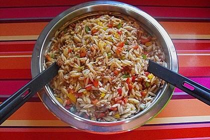 Kritharaki - Salat mit Hackfleisch 27