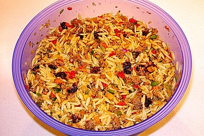 Kritharaki - Salat mit Hackfleisch 43