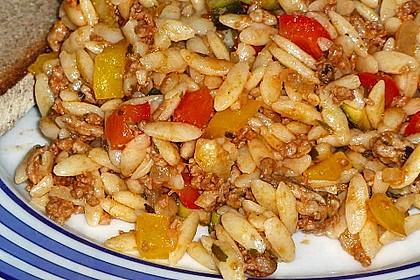 Kritharaki-Salat mit Hackfleisch 43