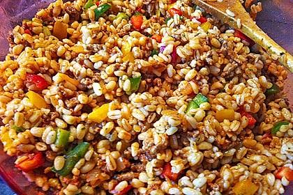 Kritharaki - Salat mit Hackfleisch 34