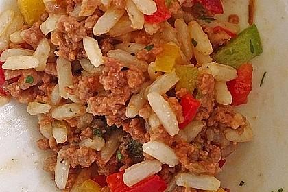 Kritharaki - Salat mit Hackfleisch 41