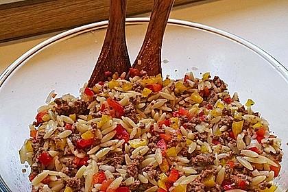 Kritharaki-Salat mit Hackfleisch 6