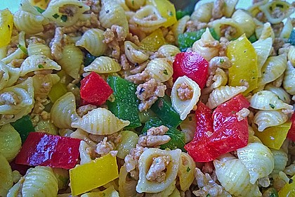 Kritharaki - Salat mit Hackfleisch 56