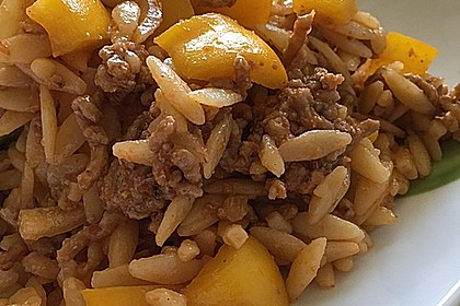Kritharaki - Salat mit Hackfleisch 57