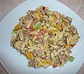 Kritharaki - Salat mit Hackfleisch
