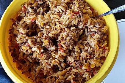 Kritharaki - Salat mit Hackfleisch 20