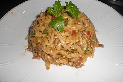 Kritharaki-Salat mit Hackfleisch 14