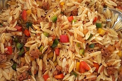 Kritharaki - Salat mit Hackfleisch 24