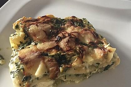 Spinat - Schafskäse - Lasagne 26