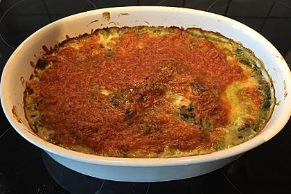 Spinat - Schafskäse - Lasagne 11