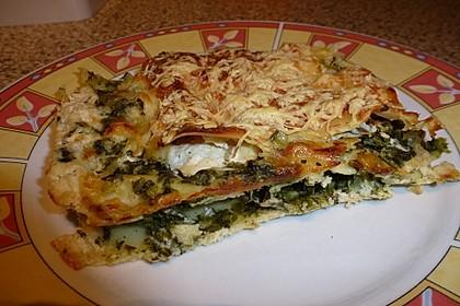 Spinat - Schafskäse - Lasagne 24