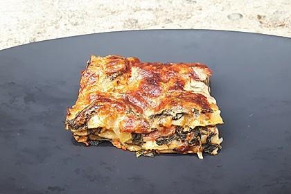 Spinat - Schafskäse - Lasagne 25