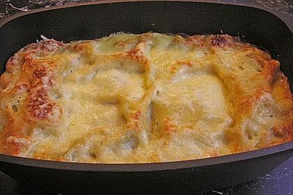 Spinat - Schafskäse - Lasagne 14