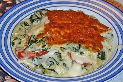 Spinat - Schafskäse - Lasagne 32