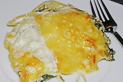 Spinat - Schafskäse - Lasagne 50