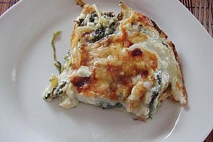 Spinat - Schafskäse - Lasagne 19