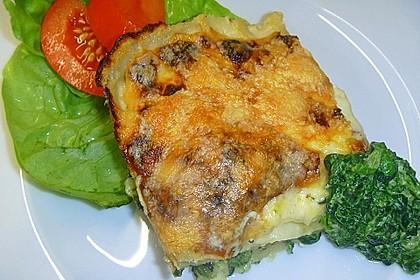 Spinat - Schafskäse - Lasagne 16