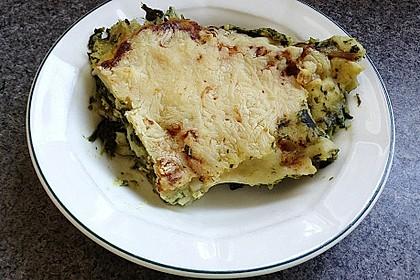 Spinat - Schafskäse - Lasagne 46