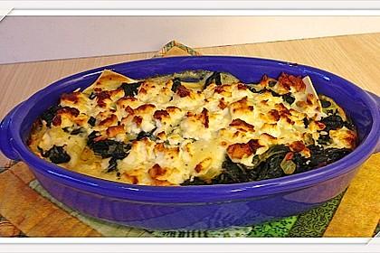 Spinat - Schafskäse - Lasagne 15
