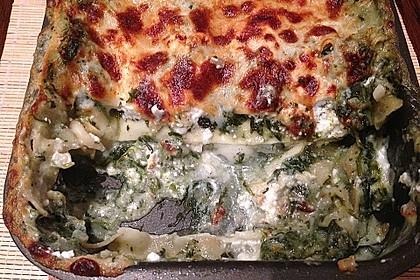 Spinat - Schafskäse - Lasagne 37