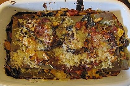 Spinat - Schafskäse - Lasagne 49