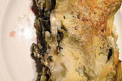 Spinat - Schafskäse - Lasagne 44