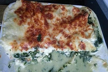 Spinat - Schafskäse - Lasagne 17
