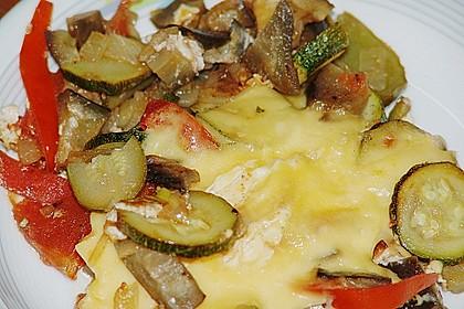 Gemüsepfanne mit Eiern und Käse 24