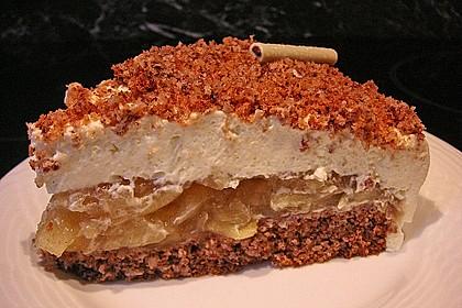 Walnuss - Apfel - Torte