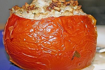 Gefüllte Tomate - gefüllte Zucchini - gefüllte Paprika