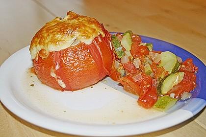 Gefüllte Tomate - gefüllte Zucchini - gefüllte Paprika 1