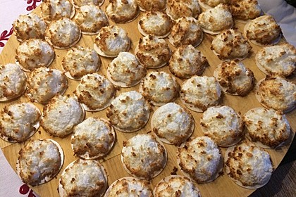 Saftige Kokosmakronen 60