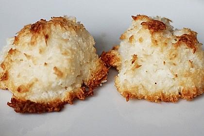 Saftige Kokosmakronen