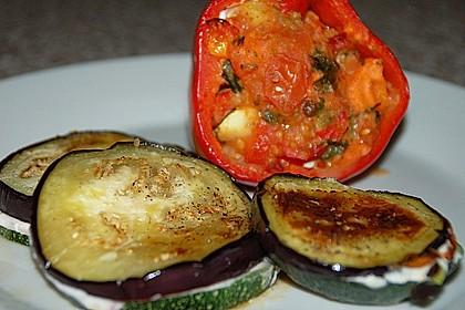 gef llte paprika mit aubergine zucchini variation von. Black Bedroom Furniture Sets. Home Design Ideas