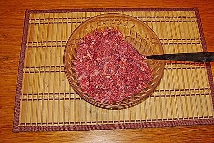 Rote Bete Salat mit Apfel und Walnuss 17