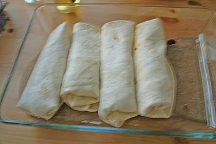 Burrito mit Hackfleisch und Gemüse 12