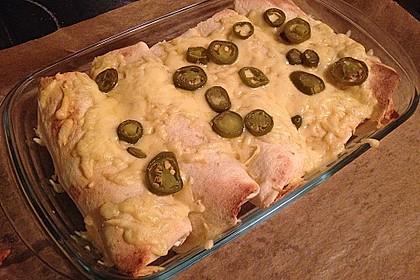 Burrito mit Hackfleisch und Gemüse 3