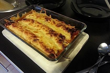 Burrito mit Hackfleisch und Gemüse 5