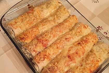 Burrito mit Hackfleisch und Gemüse 10