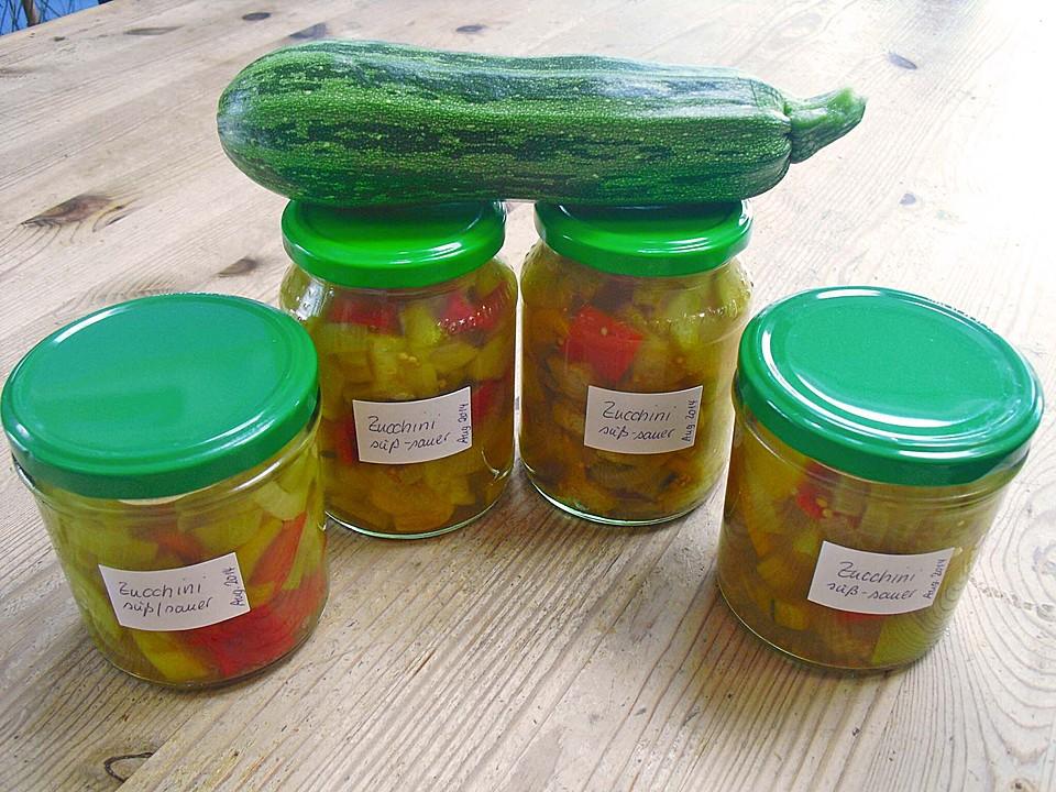 zucchini paprika s sauer von karin64. Black Bedroom Furniture Sets. Home Design Ideas