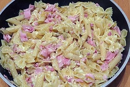 Schinken - Käse - Nudeln