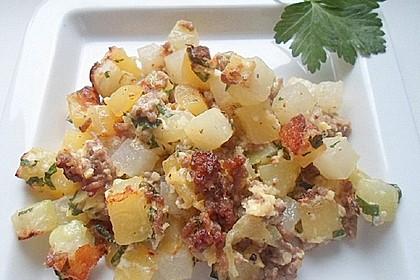 Kohlrabi - Kartoffel - Auflauf (Bild)